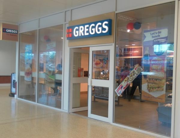 Fourth Greggs Store Complete.